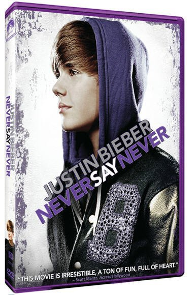 Justin Bieber ; DVD Never Say Never !