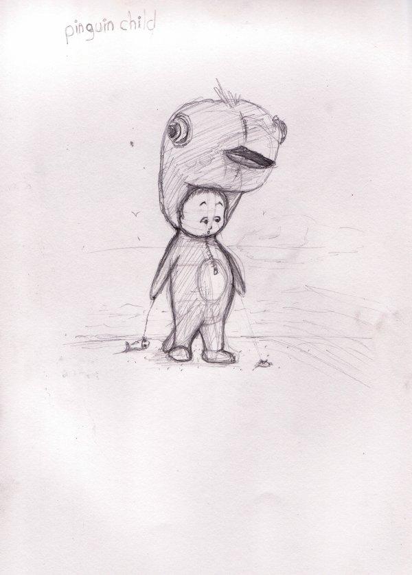 Pinguin child