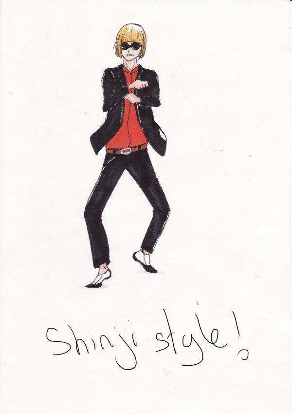 Shinji Style !! (Bleach personnage)