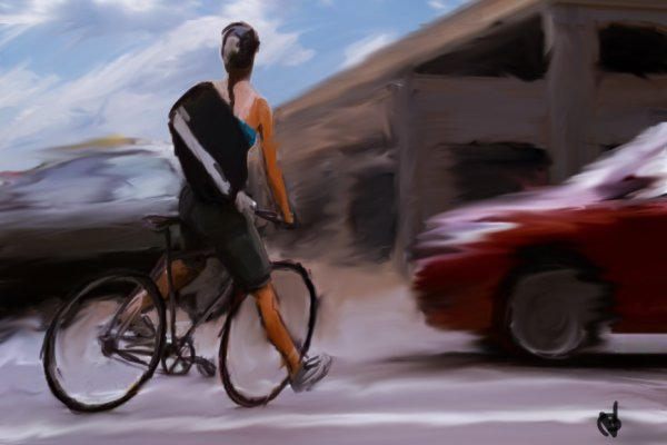 Speed Painting : The Runner