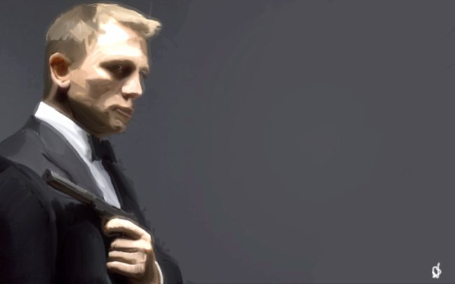 Daniel Craig (speed painting)