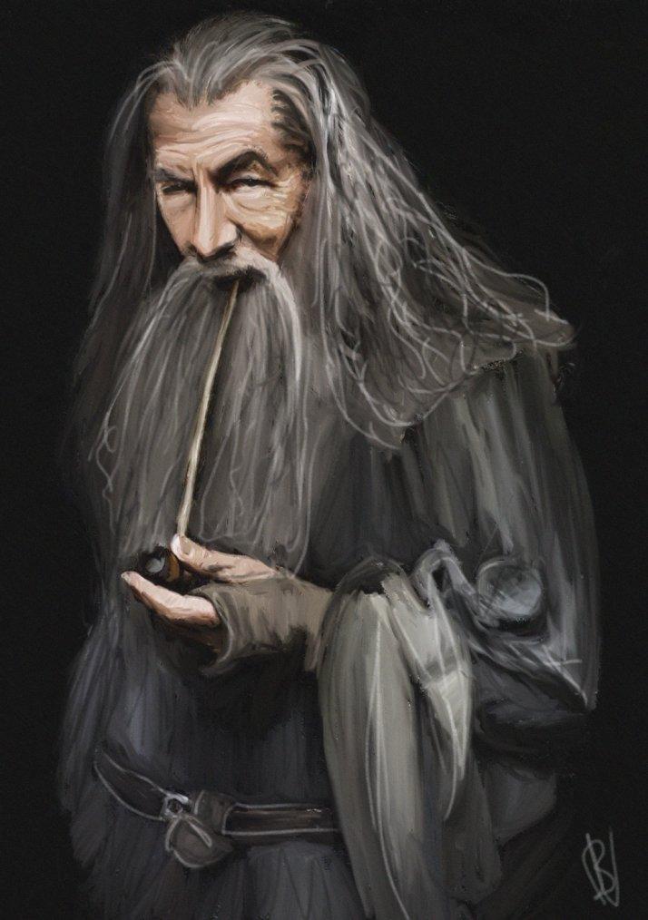 Un personnage du Seigneur des Anneaux : Gandalf