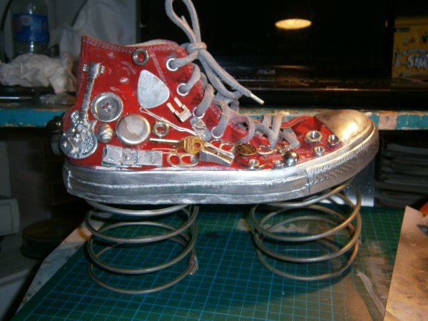Chaussures a ressort ! (Projet d'été art appliqués ! )