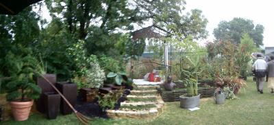 Croquis de jardin botanique et rendez vous for Conception jardin anglais
