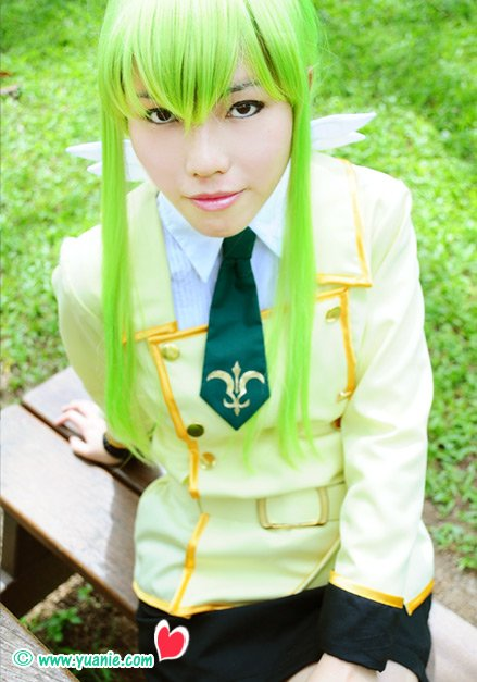COSPLAY CODE GEASS - C.C. SCHOOL