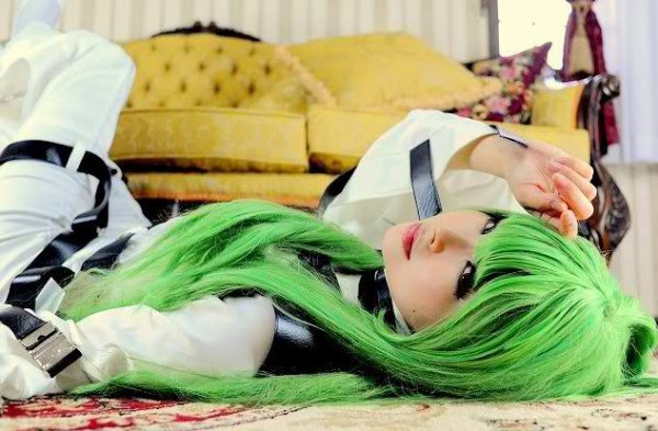 COSPLAY CODE GEASS - C.C. R1
