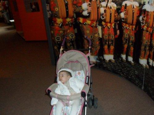 visite du musée du masque @ Binche