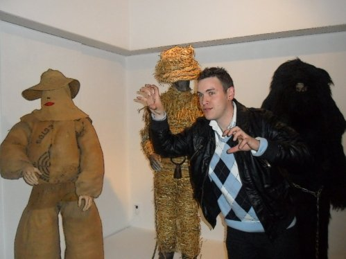 Visite musée du masque @ Binche