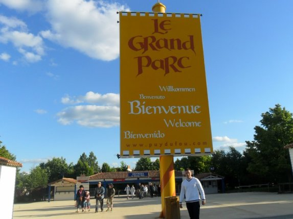 Balade en vendée,parc du Puy du fou