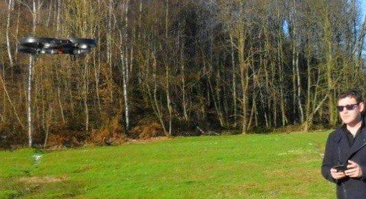 ghost drone avec camera hd