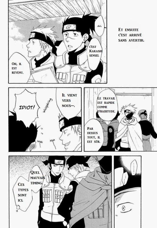 Doujinshi Naruto: Kakashi x Iruka chapitre 1 partie 1