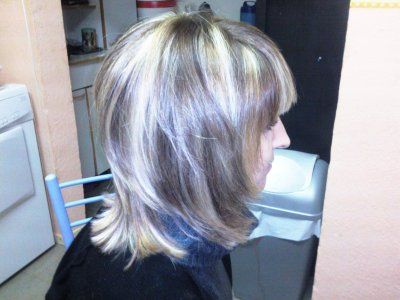 Meches coup brushing ma passion la coiffure - Coiffure meches blondes et chocolat ...