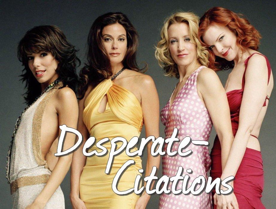 Toutes les Citations de Desperate Housewives Saison 1 à 8