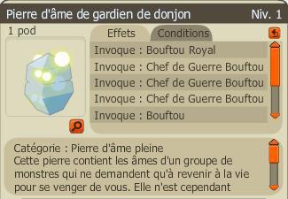 Pierre d'âme de gardien de donjon (Bouftou Royal) 24 000Kù