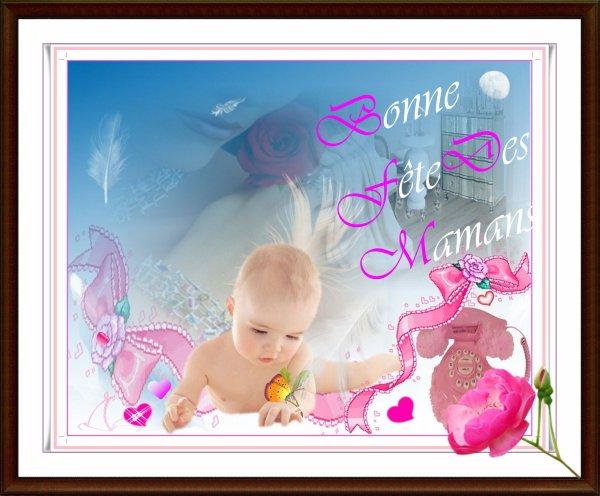 ♪  ♥  ♪   ♪ A toutes nos mères présentes & absentes, une .....♪  ♥  ♪
