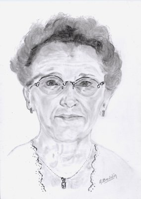 Mon portrait dessiné par Dédé