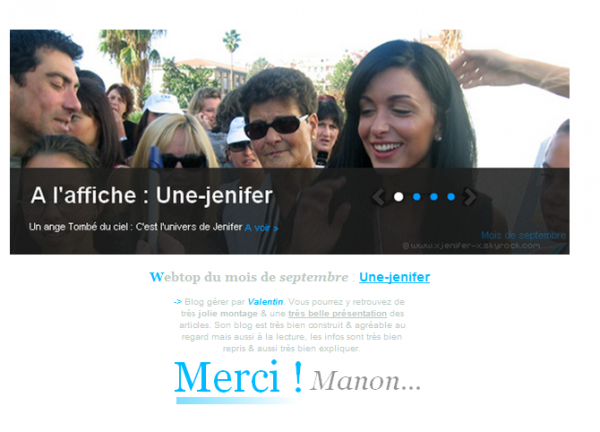 -> Une-Jenifer : Webtop du mois de septembre !