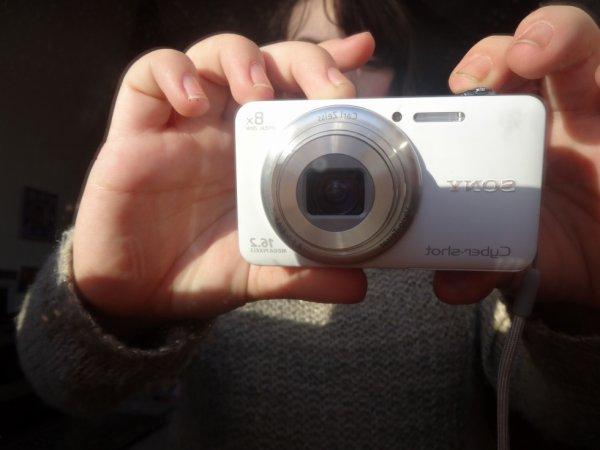 mon nouvelle appareil photo