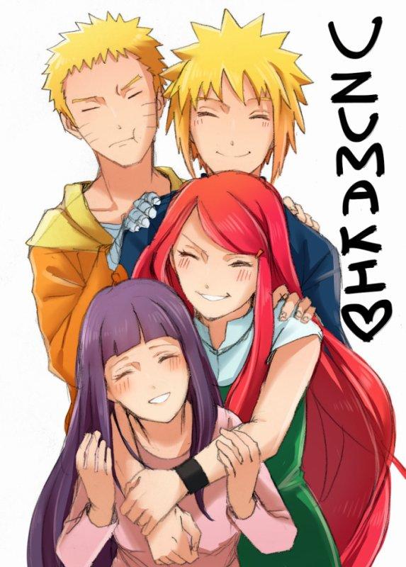 la famille uzumaki <3