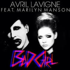 Avril Lavigne / Bad Girl feat. Marilyn Manson (2013)