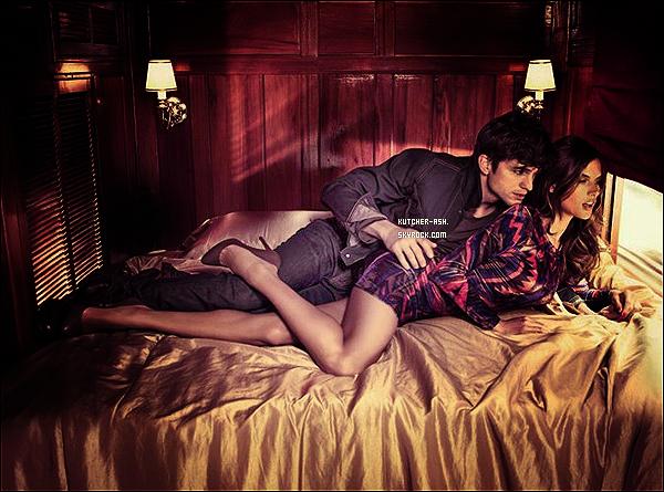 . Ashton Kutcher et le mannequin Alessandra Ambrosio ont été réunis à nouveau pour la marque bresilienne ...  Toujours pour les besoins de la campagne visant à promouvoir la prochaine collection automne-hiver 2012 par Colcci ! Votre avis .?! .