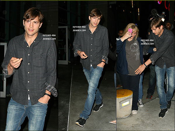 . 3 Avril 2012 : Mister Ashton Kutcher a été vu allant voir le match des Lakers à Los Angeles. Top ou flop ? .