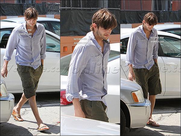 """. 18/04/12 : Ash' et son assistante vont au studio Warner Brothers, pour tourner un épisode de """"Two and a Half Men"""". ."""