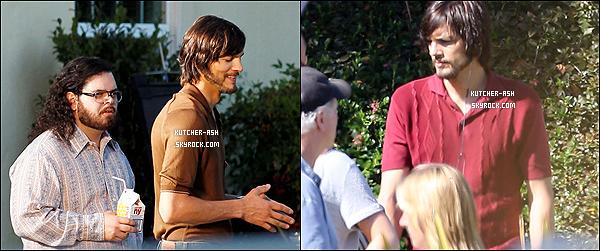 """. 13/06/12 : Ash' a encore été vu, comme presque tout les jours sur le set de """"jObs"""", à Los Altos en Californie. ."""