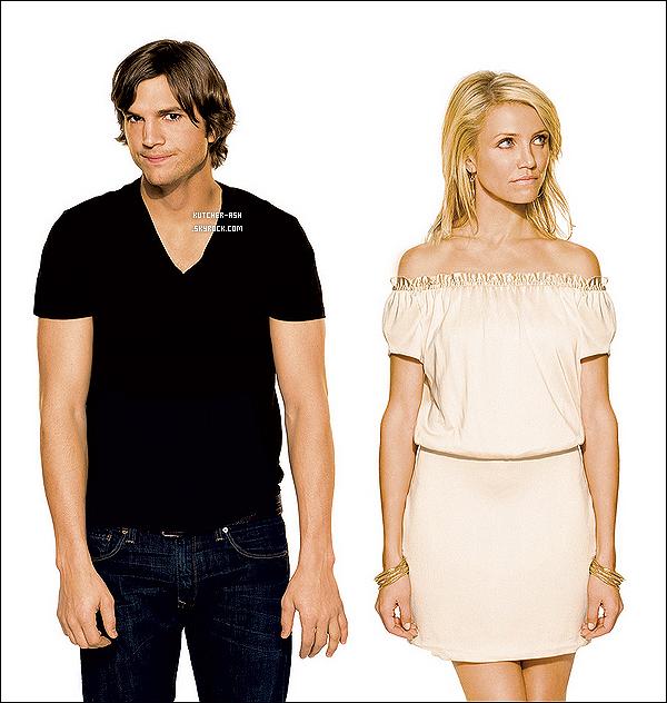 """. Découvrez le shooting d'Ashton Kutcher et Cameron Diaz pour leur film """"Jackpot"""" en 2008. ."""