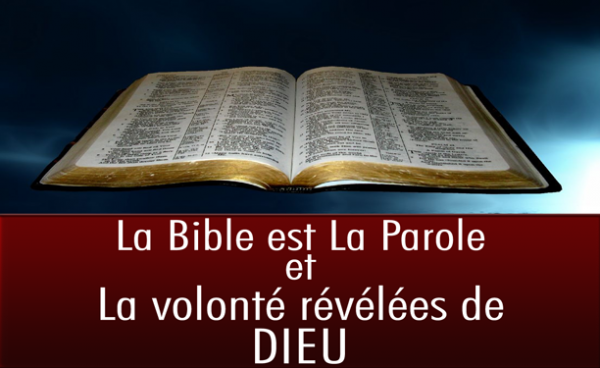 La Volonté Révélée et Dévoiler de Dieu