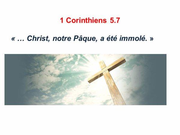 JÉSUS-CHRIST NOTRE PÂQUES