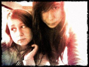 Moi et my soeurette :) <3 <3