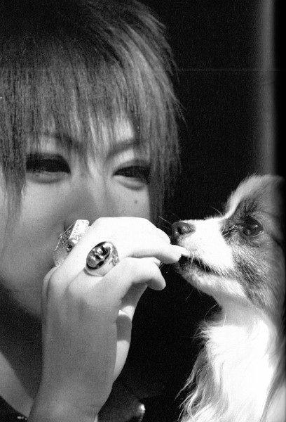 Ruki et son petit chien
