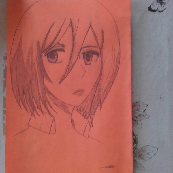 Dessin de Mikasa Ackerman