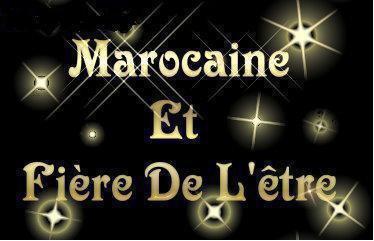 je suis marokain HMDL fiere de l'etre