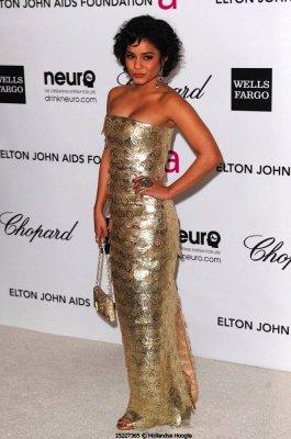 Vanessa à la soirée de Elton John!