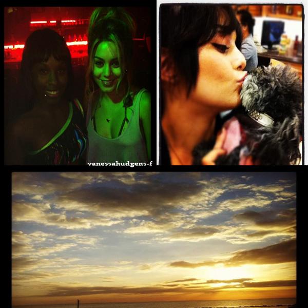 """Nouvelles photos personnelles de Vanessa Hudgens! + Pochettes DVD de """"Journey2"""""""