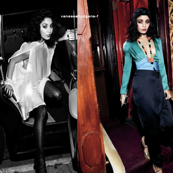 Les photos du shooting de Vanessa Hudgens pour instyle Magazine ne sortent que maintenant! Vous aimez?
