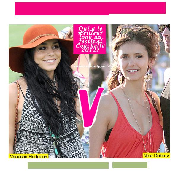 Look Fashion! Vanessa Hudgens VS Nina Dobrev !