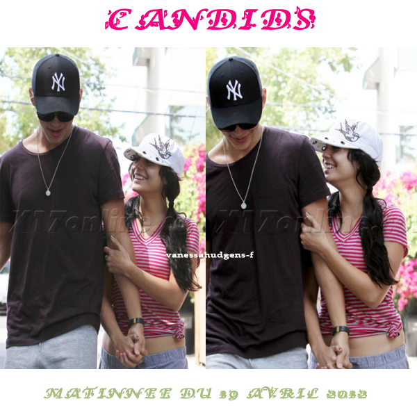 Ce 19-04-2012 Nouvelles photos de Vanessa Hudgens et Austin Butler!