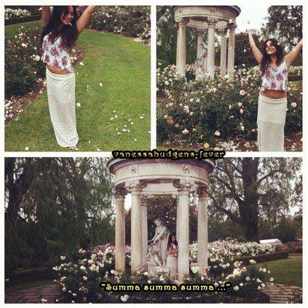 Ce Jeudi 21-06-2012   Vanessa Hudgens poste une nouvelle photo personnelle !
