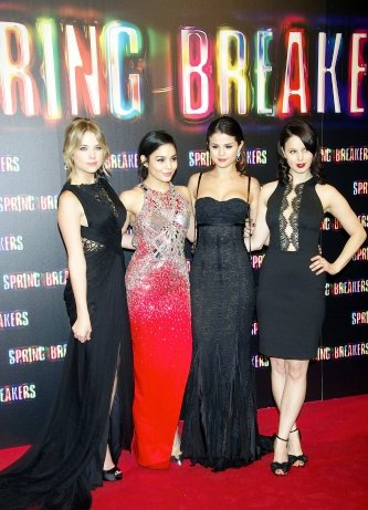 Vanessa Hudgens et le cast de Spring breakers à Madrid !!!