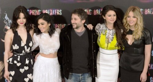 Vanessa Hudgens et le cast de Spring breakers à Madrid !!!