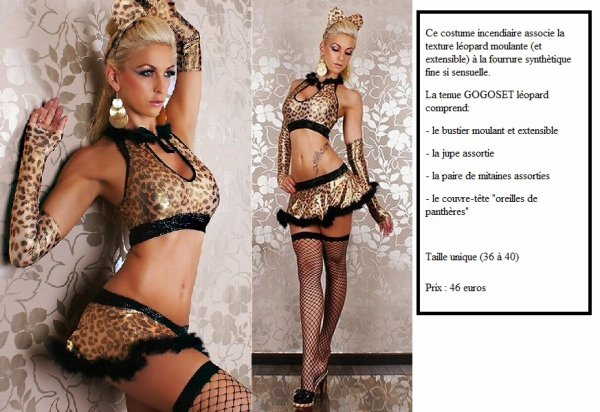 Costume GOGOSET leopard