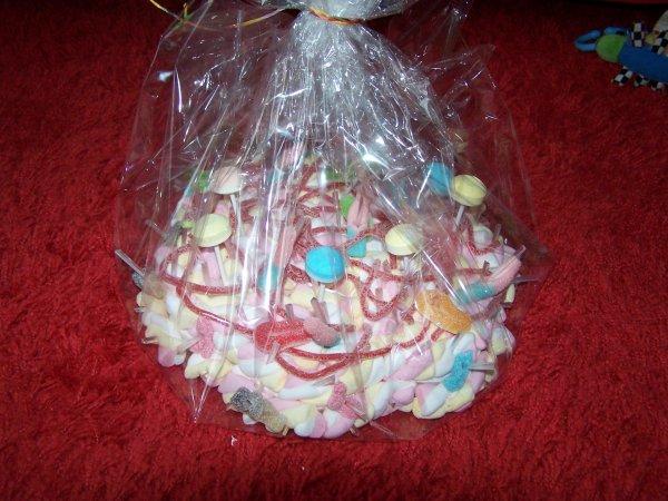 Mars 2015 - gateau de bonbons