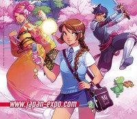 Japan -expo   /   Tout les ans Juin-Julliet   /    Pour tous les fans de mangas !!!