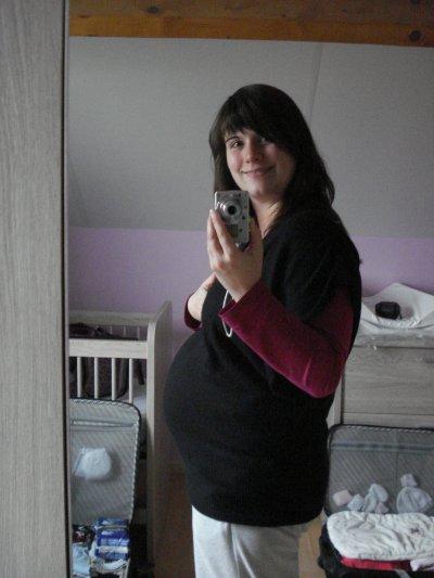 Ma 35è semaine de grossesse - Début du 9è mois !