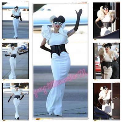 "Lady Gaga - Promo Australia ( Arrivée à l'aéroport de Sydney + teaser ""you & I "" Monster Hall )"