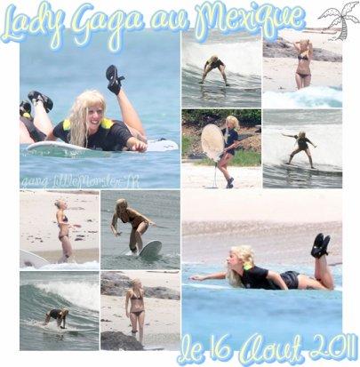 Lady Gaga - Puerta Vallarta 16 Aout 2011