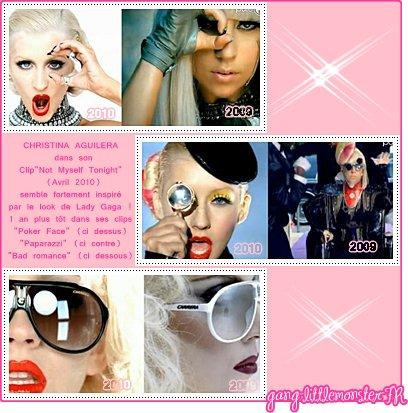 Lady Gaga - les copieuses du style Gaga !